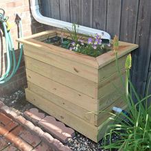 downspout planter - Decorative Downspouts