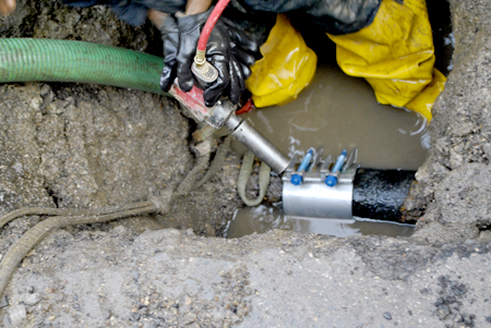 PWD Repairs a Water Main