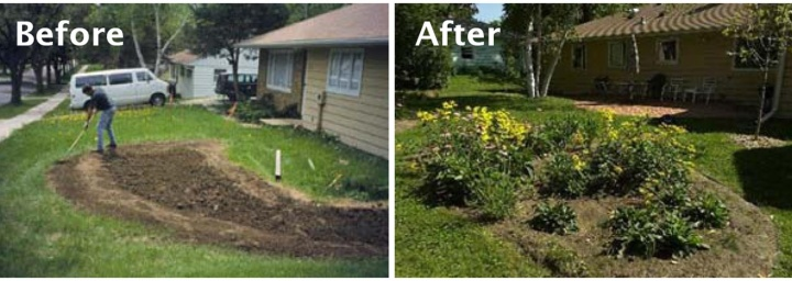 How to Build a Rain Garden Philadelphia Water Department