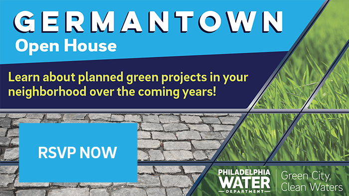 An open house preview of upcoming Germantown construction projects will take place at the Happy Hollow Recreation Center, located at 4800 Wayne Avenue, on Tuesday, October 3. Residents are invited to stop by between 6 p.m. and 8:30 p.m.