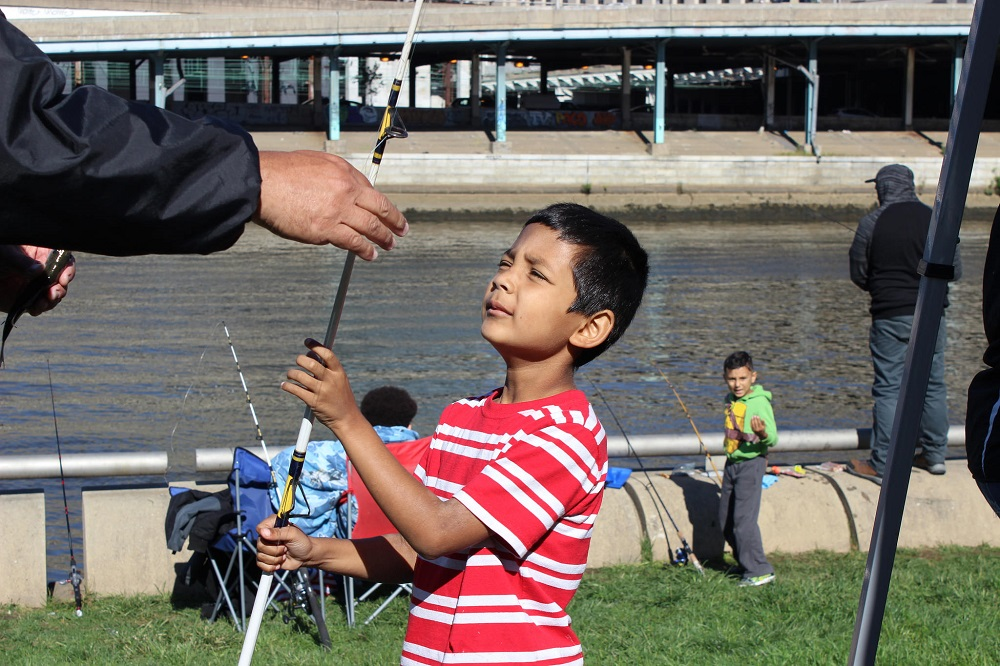 Register by Sept. 6 to join the Philly Fun Fishing Fest on Sept. 8. ADA and SEPTA access.