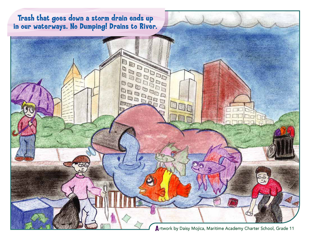 Green city clean waters art contest