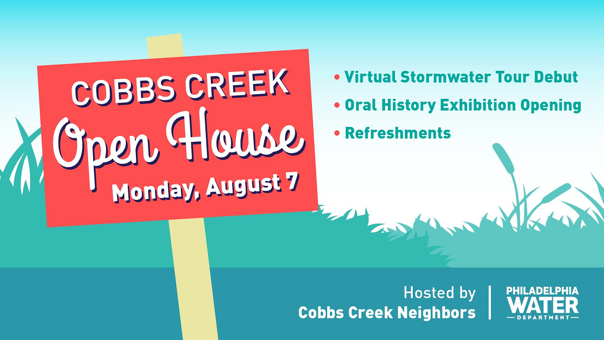Come to the Cobbs Creek Library on Aug. 7 at 6:30 p.m. to learn about an oral history of the area.