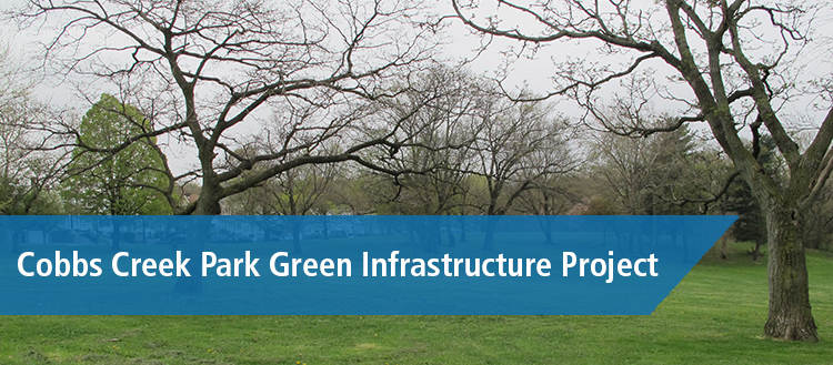 Cobbs Creek Green Infrastructure Banner