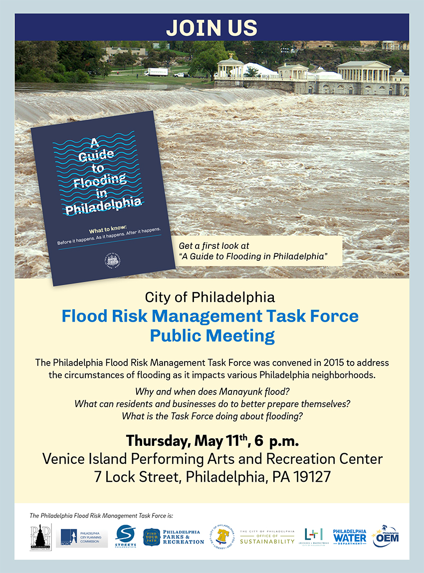 A meeting on flooding will be held on May 11 at 6 p.m. at the Venice Island rec center, 7 Lock Street. Credit: Brian Rademaekers