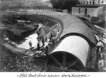 From The Archives Mill Creek Sewer Under Construction