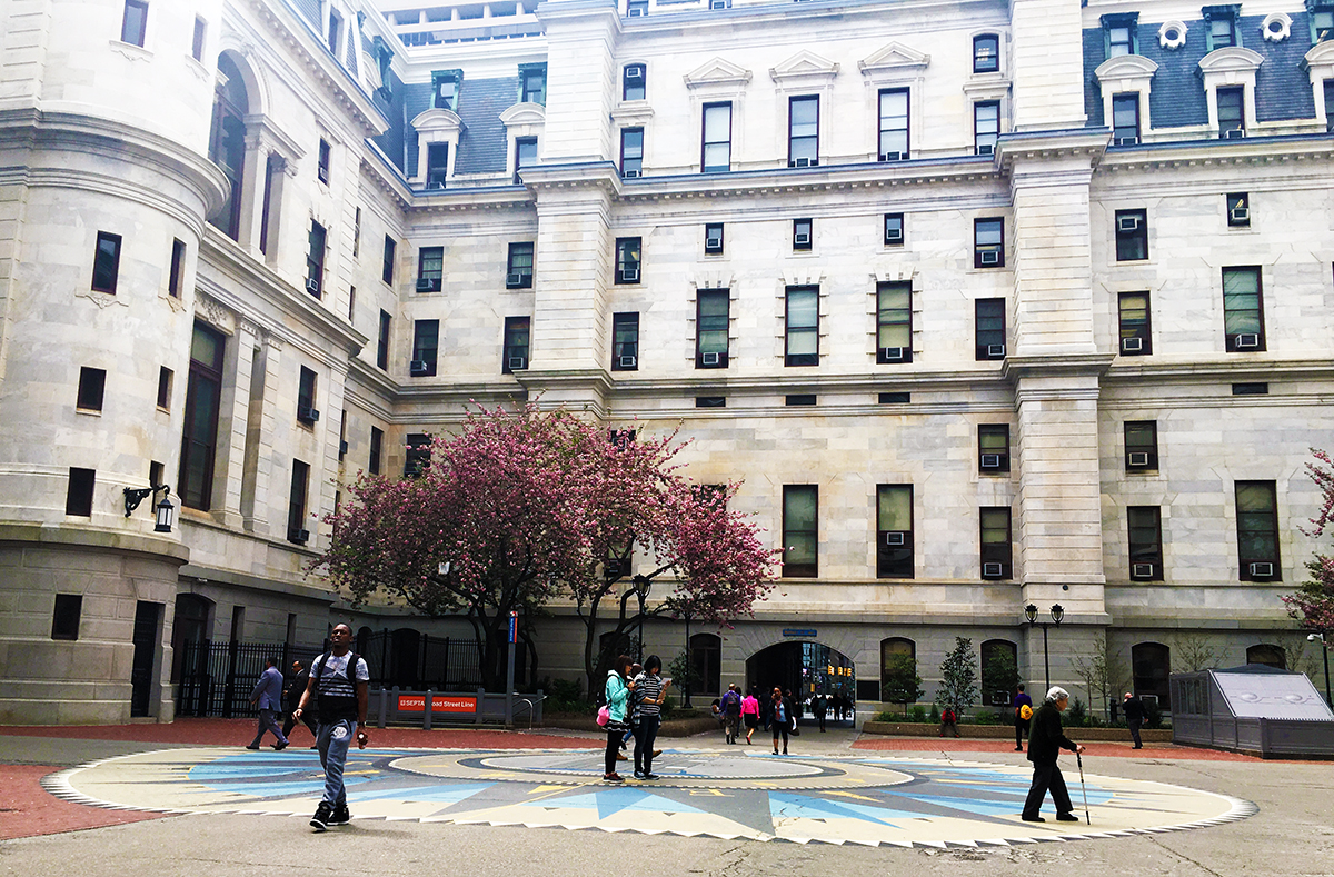 "A new grant is helping the City connect residents to historic and modern water infrastructure investments while making the Philadelphia City Hall Courtyard a ""true civic commons."""