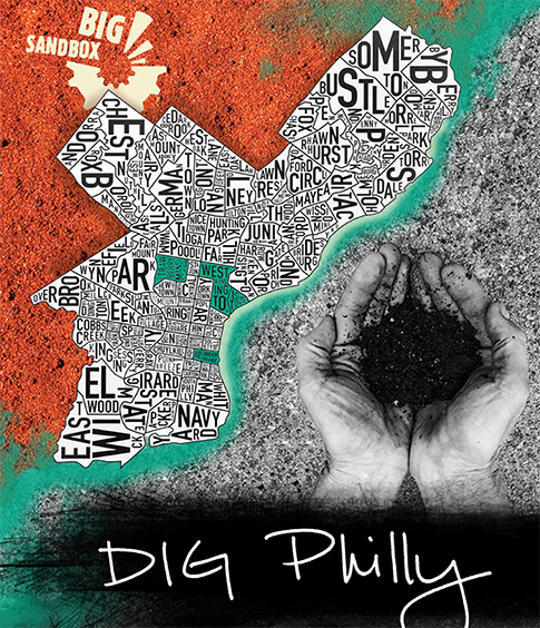 Big Sandbox Dig Philly Announcement Poster
